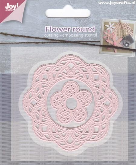 Joy crafts cutting die flower round doily for Joy craft flower dies