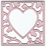 Joy Crafts - Mery's Cutting & Embossing Die - Square Heart