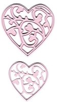 Joy Crafts - Mery's Cutting & Embossing Die - Two Hearts