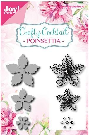 Joy Crafts - Cutting Die & Clear Stamp - Poinsettia