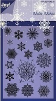 Joy Crafts - Noor Clear Stamp - Winter Wishes Snowflakes