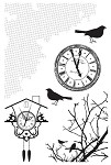 Kaisercraft-13th Hour-Clear Stamp-Shapes