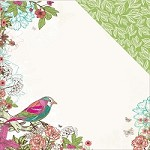 "KaiserCraft - Fly Free Collection - 12""x12"" Double Sided Cardstock - QT"