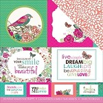 "KaiserCraft - Fly Free Collection - 12""x12"" Double Sided Cardstock - Confidante"