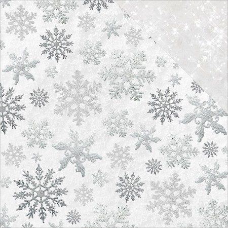 "KaiserCraft - Glisten Collection - 12""x12"" Double Sided Cardstock - Shimmering (glittered)"