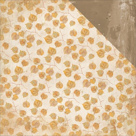"KaiserCraft - Golden Grove Collection - 12""x12"" Double Sided Cardstock - Fallen Leaves"