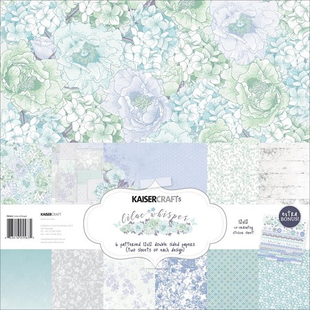 KaiserCraft - Lilac Whisper Collection - Paper Pack