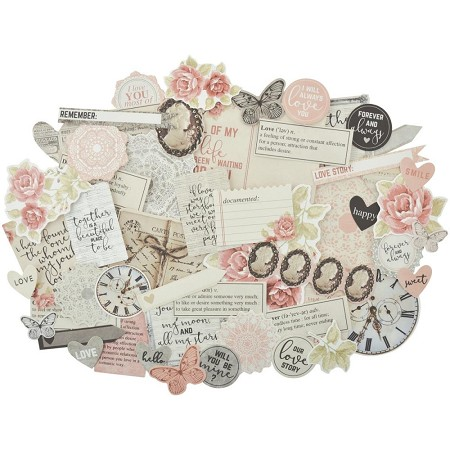 KaiserCraft - P.S. I Love You Collection - Collectables Die Cuts