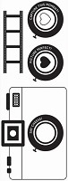 Kaiser - Happy Snaps Collection - Clear Stamp - Camera