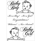 Kaiser Craft - Bundle Of Joy Collection - Clear Stamps - New Arrival