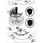 Kaiser Craft - Bundle Of Joy Collection - Clear Stamps - Bundle of Joy