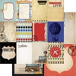 "Kaisercraft - Check in Collection - 12""x12"" Paper - Tour"