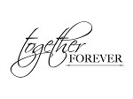 "KaiserCraft - 2.25""x3"" clear stamp  - Together Forever"