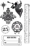 Kaisercraft-December 25-Clear Stamp-Shapes