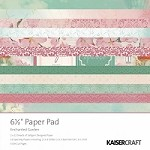 "Kaiser Craft - Enchanted Garden Collection - 6""x6"" Paper Pad"