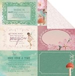 "Kaiser Craft - Enchanted Garden Collection - 12""x12"" Double-Sided Cardstock - Allure"