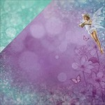 "KaiserCraft - Fairy Dust Collection - 12""x12"" Double Sided Cardstock - Pixie"