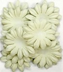Kaiser-Large Flat Paper Flowers-Mint