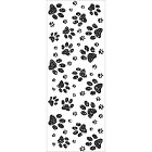KaiserCraft - Furry Friends Collection - Clear Stamp:  Paw Prints