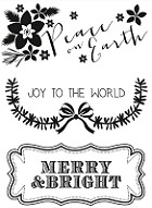 Kaiser Craft - Holly Bright Collection - Clear Stamps - Peace