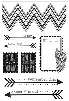 Kaiser - Bow & Arrow Collection - Clear Stamps