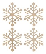 Kaiser - Wood Flourish - Mini Snowflakes