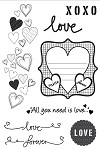 Kaiser - Made with Love - Clear Stamp