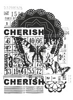 KaiserCraft - Clear Stamp - Vintage Cherish