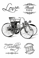 Kaiser Craft - On This Day Collection - Clear Stamps