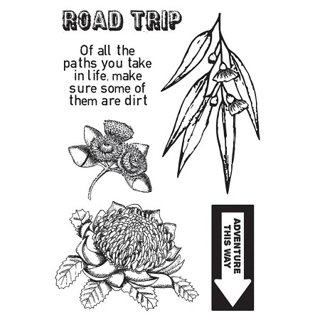 KaiserCraft - Open Road Collection - Clear Stamp