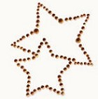 Kaiser-Rhinestone Picture-2 Star-Copper