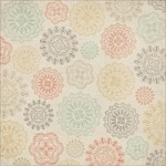 "Kaiser - Rustic Harmony Collection - 12""x12"" varnish paper - Pretty"