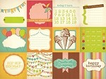 "Kaisercraft - Save The Date Collection - 12""x12"" Paper - Hip, Hip"