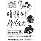 KaiserCraft - Say Aloha Collection - Clear Stamp
