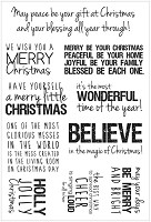 Kaiser - Christmas  - Clear Stamp Set -Quotes