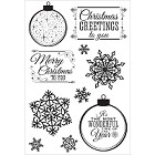 KaiserCraft - Silver Bells Collection - Clear Stamp