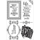 KaiserCraft - Story Book Collection - Clear Stamp