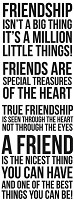 Kaiser Craft - Clear Stamps - True Friendship