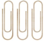 Kaiser Craft - Wood Flourish - Paper Clips