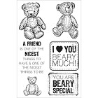 Kaiser - Teddy Bear Picnic Collection - Clear Stamp