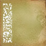 "Kaisercraft - Turtle Dove Collection - 12""x12"" Paper - Delicate"