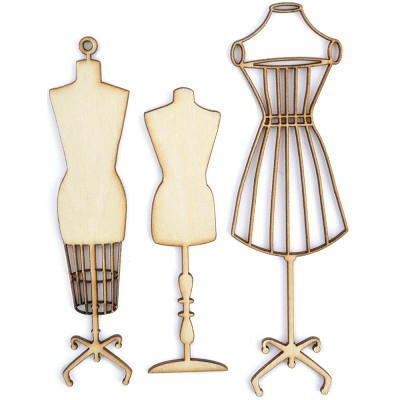 Kaiser Craft-Wood Flourish - Manequins