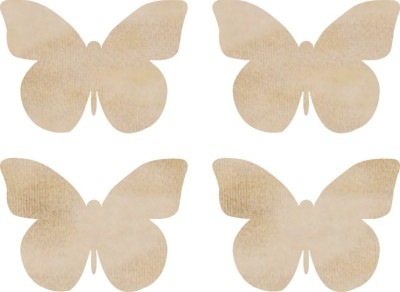 Kaiser Craft - Wood Embellishments - Butterflies