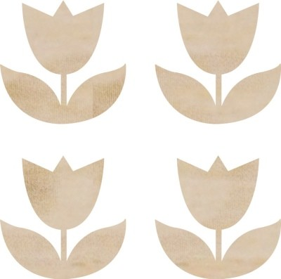 Kaiser Craft - Wood Embellishments - Tulips