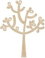 KaiserCraft - Wood Flourishes - Apple Tree