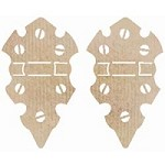 Kaiser Craft - Wood Flourish - Medium Hinges