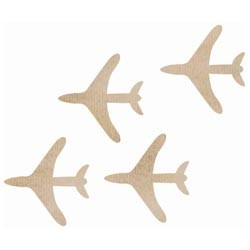 Kaiser Craft - Wood Flourish - Planes