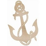 Kaiser Craft - Wood Flourish - Anchor
