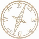 Kaiser Craft - Wood Flourish - Compass