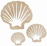 Kaiser Craft - Wood Flourish - Clam Shell